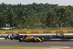 Jolyon Palmer (GBR) Renault Sport F1 Team RS16.<br /> 02.10.2016. Formula 1 World Championship, Rd 16, Malaysian Grand Prix, Sepang, Malaysia, Sunday.<br /> Copyright: Photo4 / XPB Images / action press