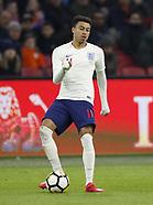 Netherlands vs England 4 April 2018