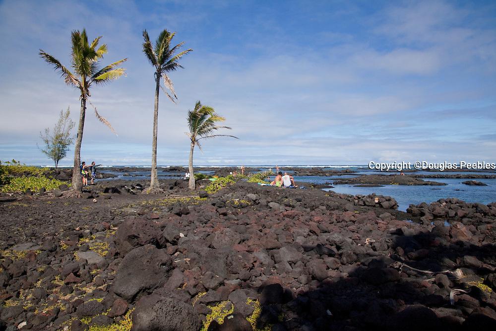 Kapoho tidepools, Puna, Island of Hawaii