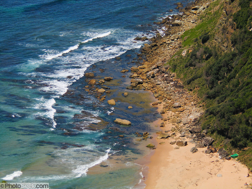 "Visit coastal Royal National Park between the towns of Loftus and Stanwell Park, 29 km south of Sydney, in New South Wales, Australia. This reserve was first in the world to use the term ""National Park."" It was established in 1879, making it Australia's oldest and the world's second-oldest national park (after Yellowstone, USA)."