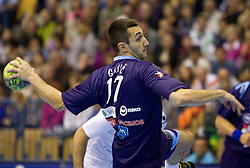Dragan Gajic of Slovenia during handball match between National teams of Slovenia and Portugal in the Qualifications of the EHF EURO 2012, on October 27, 2010 at Arena Zlatorog, Celje, Slovenia. (Photo By Vid Ponikvar / Sportida.com)