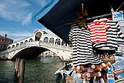 Venice, Italy, sept. 2009. Rialto's bridge.