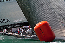 Auckland New Zealand, 31.1.09 Louis Vuitton Pacific Series racing day 2, BMW Oracle Emirates, winner  Team New Zealand