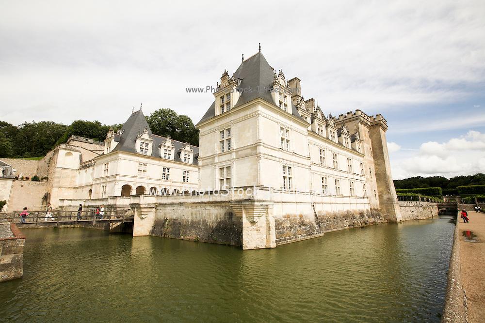 France, Loir et Cher, Chateau de Villandry on the Loire river
