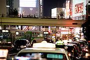 nightly Tokyo Shinjuku district