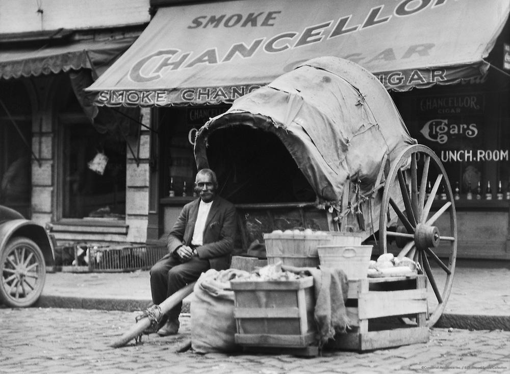 Fruit vendor, Richmond, Virginia, USA, 1926