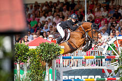 OSTERHOFF Zoe (GER), CHACENNY<br /> Münster - Turnier der Sieger 2019<br /> Grosser Preis von Münster - Siegerrunde<br /> BEMER Riders Tour Etappenwertung<br /> CSI4* - Int. Jumping competition over 2 rounds (1.60 m)<br /> 04. August 2019<br /> © www.sportfotos-lafrentz.de/Stefan Lafrentz