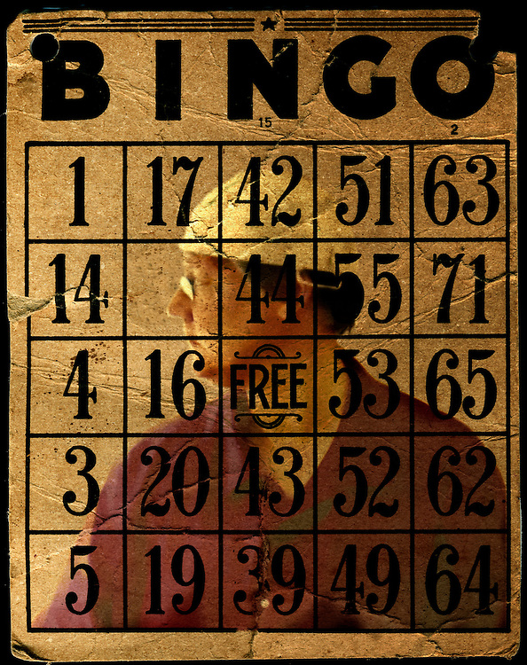 Bingo numbers with a figure