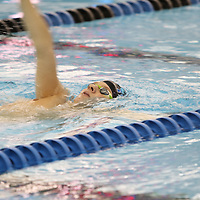 Libby Ezell | BUY AT PHOTOS.DJOURNAL.COM<br /> A Tupelo swimmer warms up for his next competition