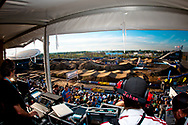 The view from the control centre at the 2011 UCI BMX Supercross World Cup in London