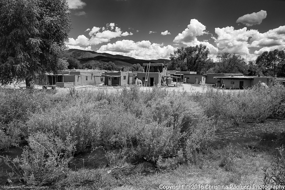 Taos Pueblo in Santa Fe New Mexico in June 2016 (Christina Paolucci, photographer).