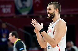 Marc Gasol of Spain during basketball match between National Teams of Spain and Turkey at Day 11 in Round of 16 of the FIBA EuroBasket 2017 at Sinan Erdem Dome in Istanbul, Turkey on September 10, 2017. Photo by Vid Ponikvar / Sportida