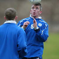 St Johnstone Training...23.01.04<br />Jim Weir looking forward to making his comeback in tomorrow's game v Raith<br />see story by Gordon Bannerman Tel: 01738 553978<br />Picture by Graeme Hart.<br />Copyright Perthshire Picture Agency<br />Tel: 01738 623350  Mobile: 07990 594431