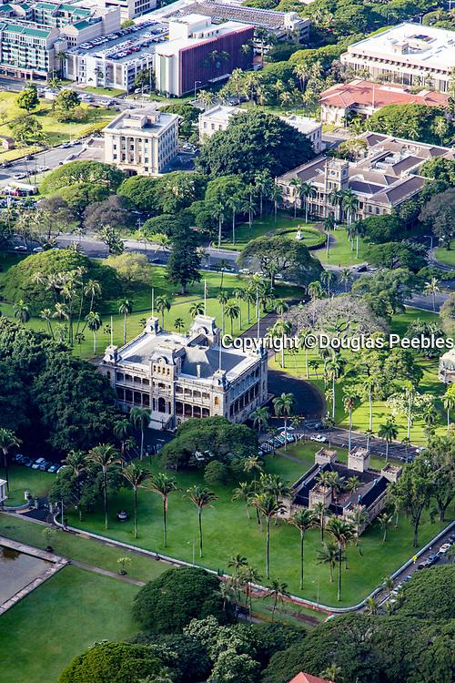 Iolani Palace, Honolulu, Oahu, Hawaii