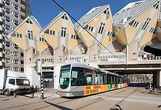 Rotterdam Centrum, Kubuswoningen, Netherlands
