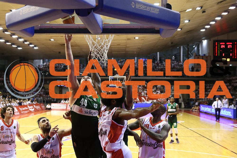 Fesenko Kyrylo<br /> Grissin Bon Reggio Emilia - Sidigas Avellino<br /> Playoff gara 3<br /> Legabasket A 2016/2017<br /> Reggio Emilia 17/05/2017<br /> Foto Ciamillo-Castoria
