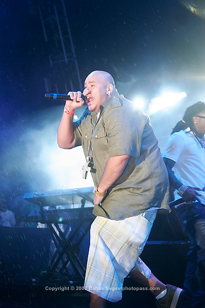 Fat Joe performing at Giant's Stadium in East Rutherford New Jersey on June 3, 2007 during Hot 97's Summerjam 2007...© Rahav Segev/ Retna ltd.