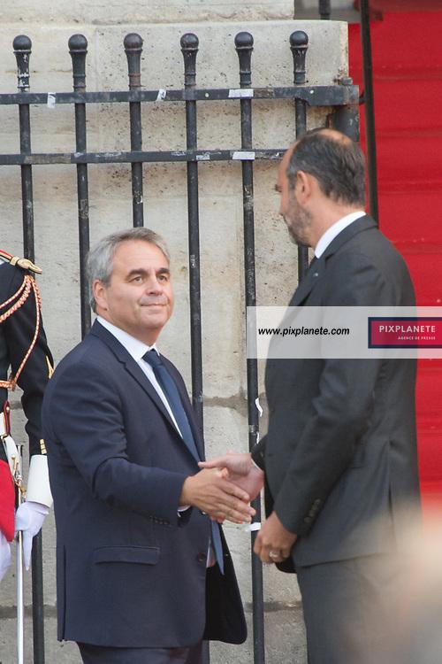 Xavier Bertrand  de Jacques Chirac Lundi 30 Septembre 2019 église Saint Sulpice Paris