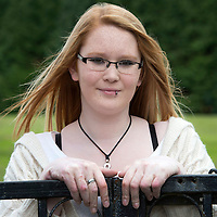 Burns victim Alicia Gibson from Aylth, Perthshire.. Alicia burnt her hands in a bath of hot water when she was 13 months old<br /> Picture by Graeme Hart.<br /> Copyright Perthshire Picture Agency<br /> Tel: 01738 623350  Mobile: 07990 594431