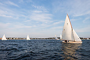 Surprise sailing in the Herreshoff S Class Tuesday Night Series.
