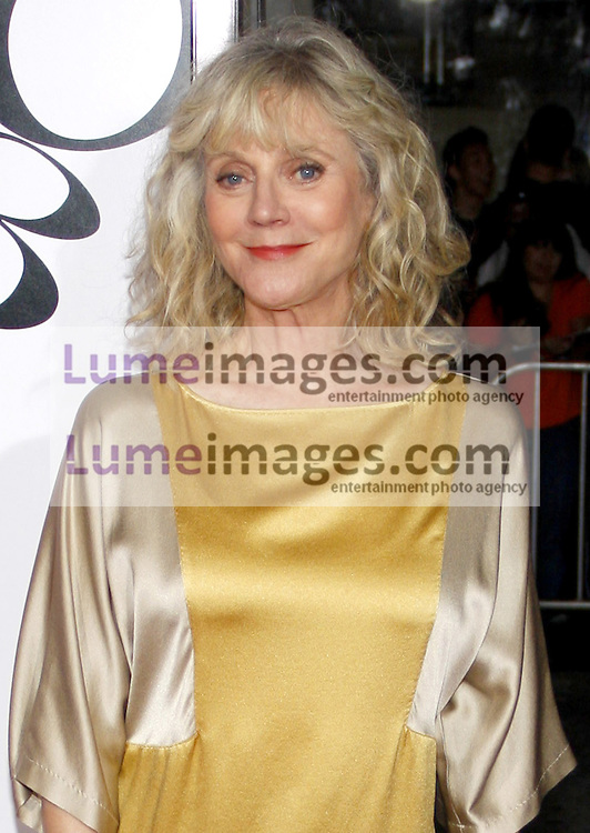 WESTWOOD, CA - SEPTEMBER 19, 2011: Blythe Danner at the Los Angeles premiere of 'What's Your Number?' held at the Westwood Village Theater in Westwood, USA on September 19, 2011.