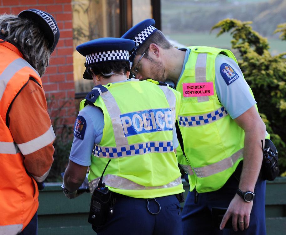 Police, Wellington, Saturday, June 01, 2013. Credit:SNPA / Ross Setford