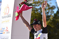Podium, BOASSON HAGEN Edvald (NOR) Dimension Data, during the 7th Tour of Oman 2016, Stage 5, Yiti (Al Sifah) - Ministry of Tourism (119,5Km) on February 20, 2016 - Photo Tim de Waele / DPPI