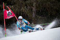 19.12.2016, Grand Risa, La Villa, ITA, FIS Ski Weltcup, Alta Badia, Riesenslalom, Herren, 1. Lauf, im Bild Henrik Kristoffersen (NOR) // Henrik Kristoffersen of Norway in action during 1st run of men's Giant Slalom of FIS ski alpine world cup at the Grand Risa race Course in La Villa, Italy on 2016/12/19. EXPA Pictures © 2016, PhotoCredit: EXPA/ Johann Groder