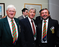 Sean McManamon, John Garavin and Noel Howley pictured at Westport Town Council's civic reception for the Mayo Associations...Pic Conor McKeown