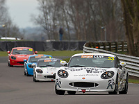#33 Ron LINN Optimum Motorsport  during Ginetta G40 Cup  as part of the British GT and BRDC British F3 Championship at Oulton Park, Little Budworth, Cheshire, United Kingdom. March 31 2018. World Copyright Peter Taylor/PSP.