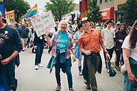 UpNorth Pride Parade in Traverse City, Michigan