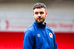 Adam Armstrong of Blackburn Rovers arrives at Doncaster Rovers - Mandatory by-line: Robbie Stephenson/JMP - 24/04/2018 - FOOTBALL - The Keepmoat Stadium - Doncaster, England - Doncaster Rovers v Blackburn Rovers - Sky Bet League One