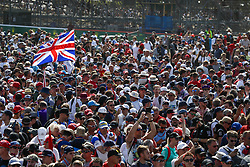 July 8, 2018 - Silverstone, Great Britain - Motorsports: FIA Formula One World Championship 2018, Grand Prix of Great Britain, .Fans  (Credit Image: © Hoch Zwei via ZUMA Wire)