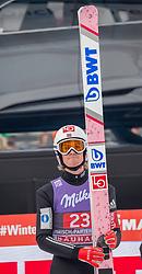 01.01.2018, Olympiaschanze, Garmisch Partenkirchen, GER, FIS Weltcup Ski Sprung, Vierschanzentournee, Garmisch Partenkirchen, Wertungsdurchgang, im Bild Daniel Andre Tande (NOR) // Daniel Andre Tande of Norway during his Competition Jump for the Four Hills Tournament of FIS Ski Jumping World Cup at the Olympiaschanze in Garmisch Partenkirchen, Germany on 2018/01/01. EXPA Pictures © 2018, PhotoCredit: EXPA/ Jakob Gruber