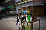 Street shots of north India. Photo by Suzanne Lee Night street scenes, Lucknow, Uttar Pradesh,