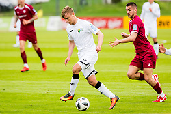 Jakob Novak of NK Rudar Velenje during football match between NK Triglav Kranj and NK Rudar Velenje in Round #27 of Prva Liga Telekom Slovenije 2017/18, on April 15, 2018 in Sports park Kranj, Kranj, Slovenia. Photo by Ziga Zupan / Sportida