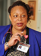 HS1HEART17P <br /> Nurse practitioner Janet Dunn speaks about her job at the home of patient Oivind Midthassel of Southampton, Pennsylvania after checking on his health Friday December 11, 2015 in Southampton, Pennsylvania. (William Thomas Cain/For The Inquirer)