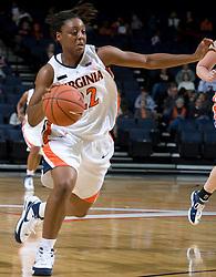 Virginia guard Monica Wright (22)..The Virginia Cavaliers women's basketball team faced the Richmond Spiders at the John Paul Jones Arena in Charlottesville, VA on November 18, 2007.