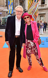 Twiggy and Leigh Lawson at the Royal Academy of Arts Summer Exhibition Preview Party 2017, Burlington House, London England. 7 June 2017.