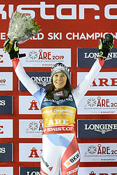 February 8, 2019 - Are, Sweden - WENDY HOLDENER of Switzerland after winning the Ladies Alpine Combined ski race at the FIS Alpine World Ski Championships in Are Sweden. (Credit Image: © Christopher Levy/ZUMA Wire)