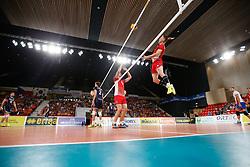 20170617 NED: FIVB Volleybal World League 2017 The Netherlands - Slovakia: Den Haag <br />Peter Ondrovic (4) of Slovakia <br />&copy;2017-FotoHoogendoorn.nl / Pim Waslander