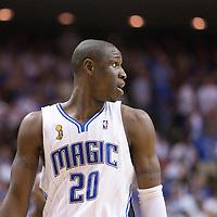 NBA - PLAYOFFS NBA 2008/2009 - LOS ANGELES LAKERS V ORLANDO MAGIC - GAME 3 -  ORLANDO (USA) - 09/06/2009 - .MICKAEL PIETRUS (MAGIC)