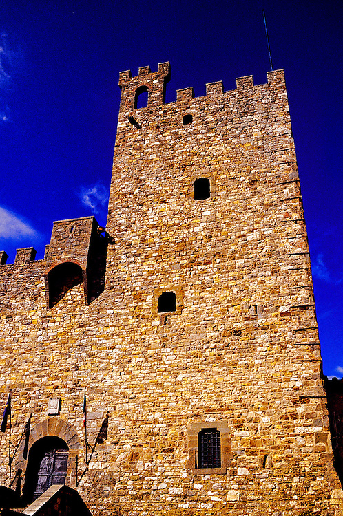 La Roca (The Fortress), Piazza di Communa, Castellina in Chianti, Tuscany, Italy