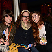 Fans before Feist's concert in the 2014 Portsmouth Singer Songwriter Festival at The Music Hall in Portsmouth, NH, on April 11, 2014