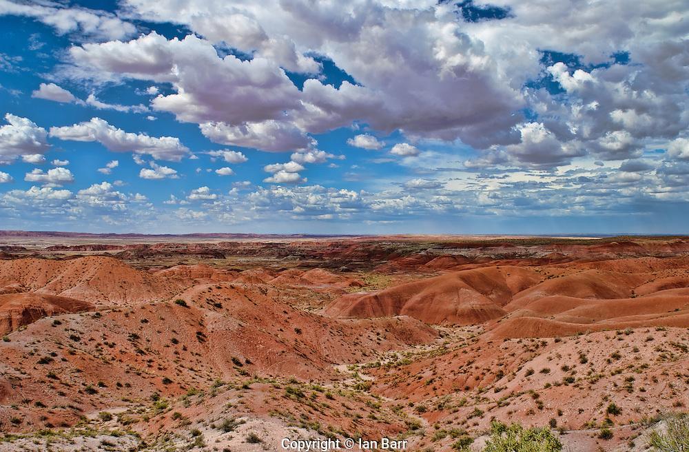 Painted Desert,Petrified Forest National Park,Arizona.