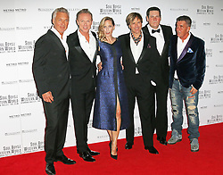 © Licensed to London News Pictures. 30/09/2014, UK. Martin Kemp; Gary Kemp; George Hencken; Steve Norman; Tony Hadley; John Keeble, Soul Boys Of The Western World, Spandau Ballet: The Film - European film premiere, Royal Albert Hall, London UK, 30 September 2014. Photo credit : Richard Goldschmidt/Piqtured/LNP