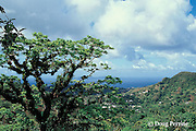 south end of St. Vincent, looking towards Bequia, Saint Vincent & the Grenadines, West Indies ( Eastern Caribbean Sea )