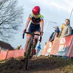 11-01-2020: Wielrennen: NK Veldrijden: Rucphen<br />Niels Brinkman