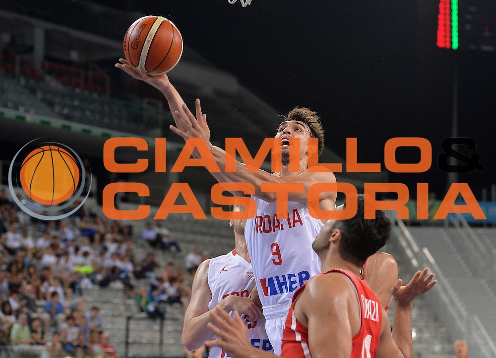 DESCRIZIONE: Torino FIBA Olympic Qualifying Tournament  Croazia Tunisia<br /> GIOCATORE: Saric Dario<br /> CATEGORIA: CROATIA CROAZIA<br /> GARA: FIBA Olympic Qualifying Tournament Croazia Tunisia<br /> DATA: 06/07/2016<br /> AUTORE: Agenzia Ciamillo-Castoria
