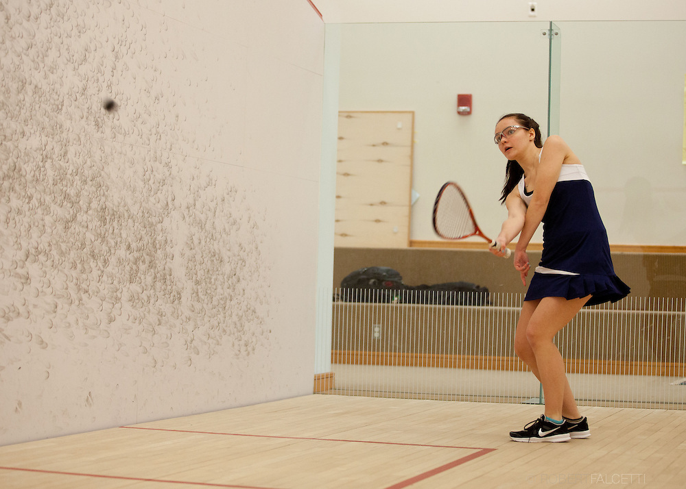 Westover School-February 2014- Varsity Squash.  (Photo by Robert Falcetti)